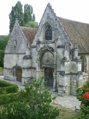 Saintines Eglisesaintines