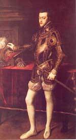Felipe II ....hijo de emperadores Felipe2pie