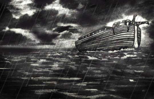 الفيضان العظيم في اساطير و اديان العالم The-Great-Flood