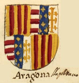 Carlino s/f (c.1442-1458) de Alfonso V de Aragón (I de Nápoles) 005-092-2