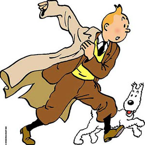 Panfleto: El soldado Droop no puede ir a la guerra! Tintin-i-milou