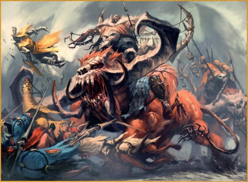 [Warhammer Fantasy Battle] Images diverses - Page 3 Mastauroc