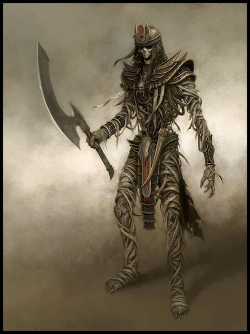 [Warhammer Fantasy Battle] Images diverses - Page 4 Tomb_Guard