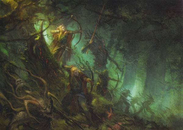 [Warhammer Fantasy Battle] Images diverses - Page 3 600px-Embuscade_dans_les_bois