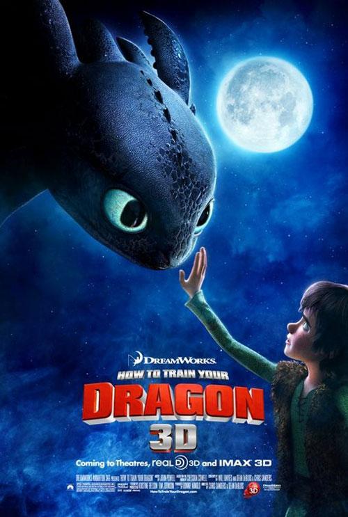 DreamWorks Animation : Une évolution malheureuse ? Howtotrainyourdragon-poster