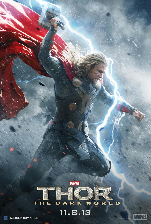 [Iron Studios] Diorama The Avengers: Thor Statue 1/6 scale - Página 7 Thor-The-Dark-World-Poster-003