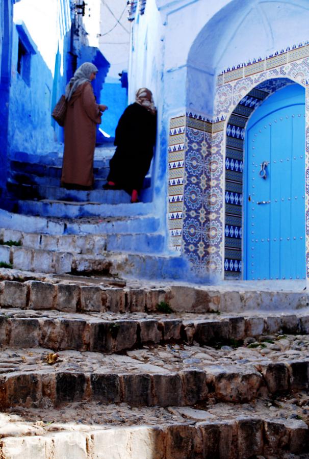 Голубой город Шефшауен Blue-12