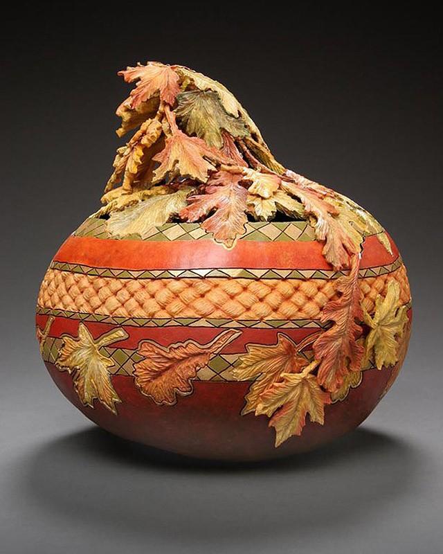 Удивительные Шедевры из Тыквы Pumpkin04