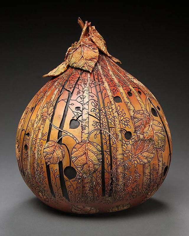 Удивительные Шедевры из Тыквы Pumpkin05