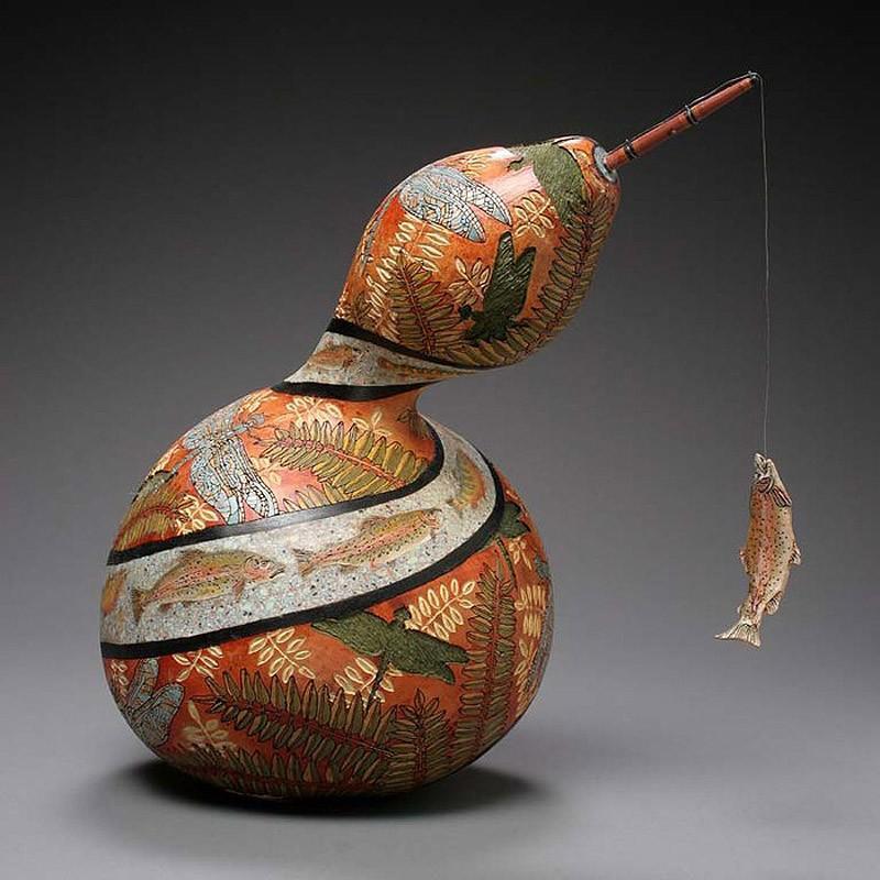 Удивительные Шедевры из Тыквы Pumpkin16