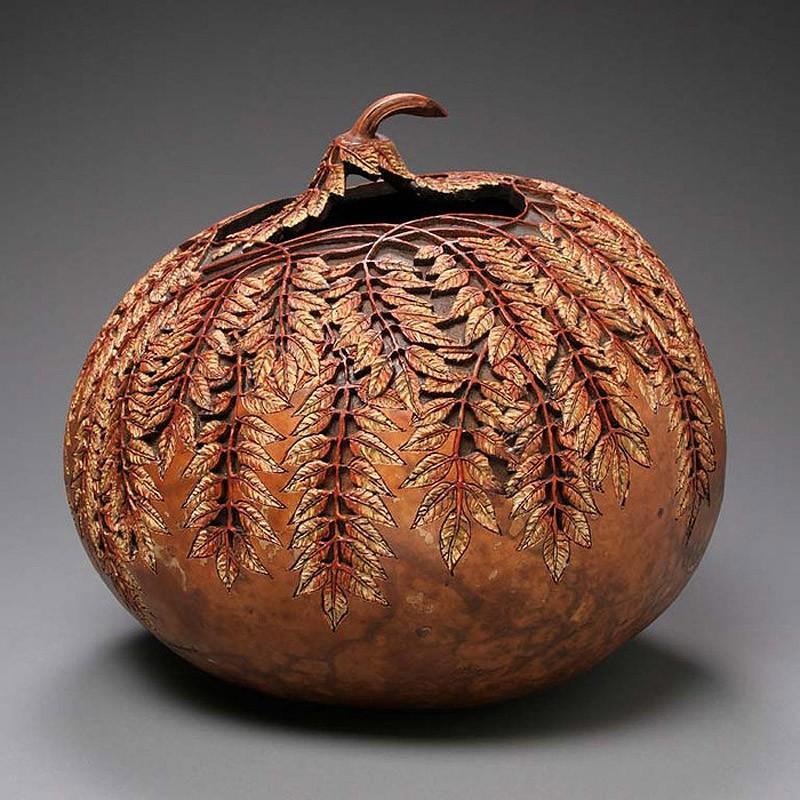 Удивительные Шедевры из Тыквы Pumpkin18