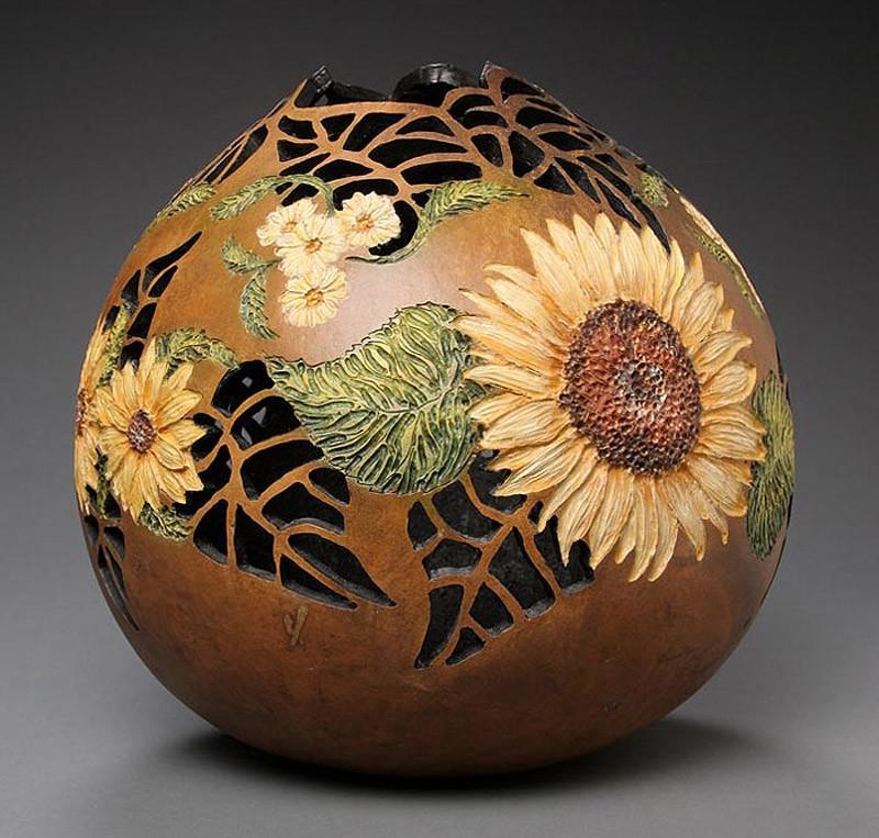 Удивительные Шедевры из Тыквы Pumpkin27