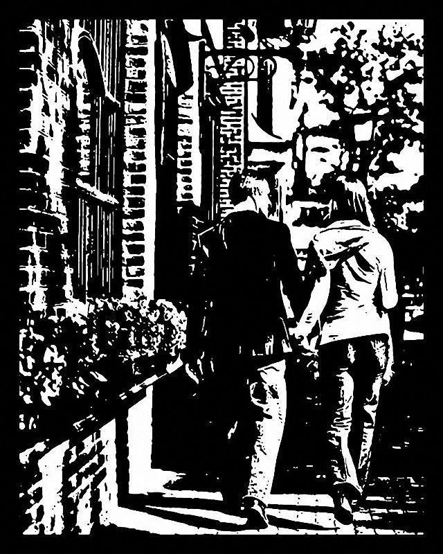 Черные вырезки Джо Бэгли PaperCutArt11