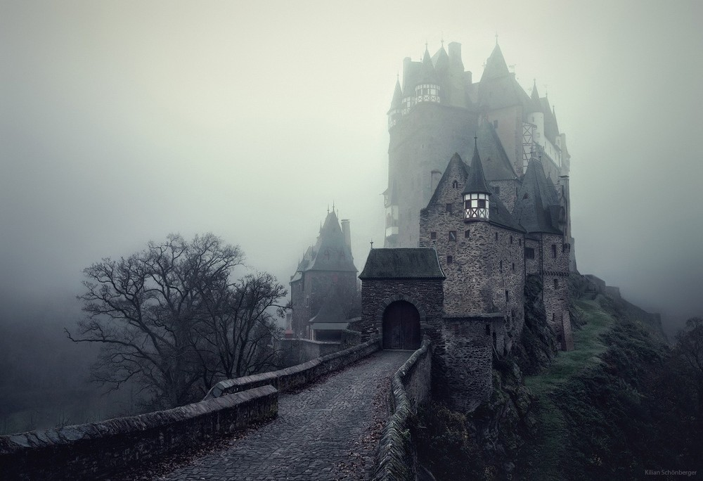 Удивительные пейзажи, вдохновленные сказками братьев Гримм Schonberger01