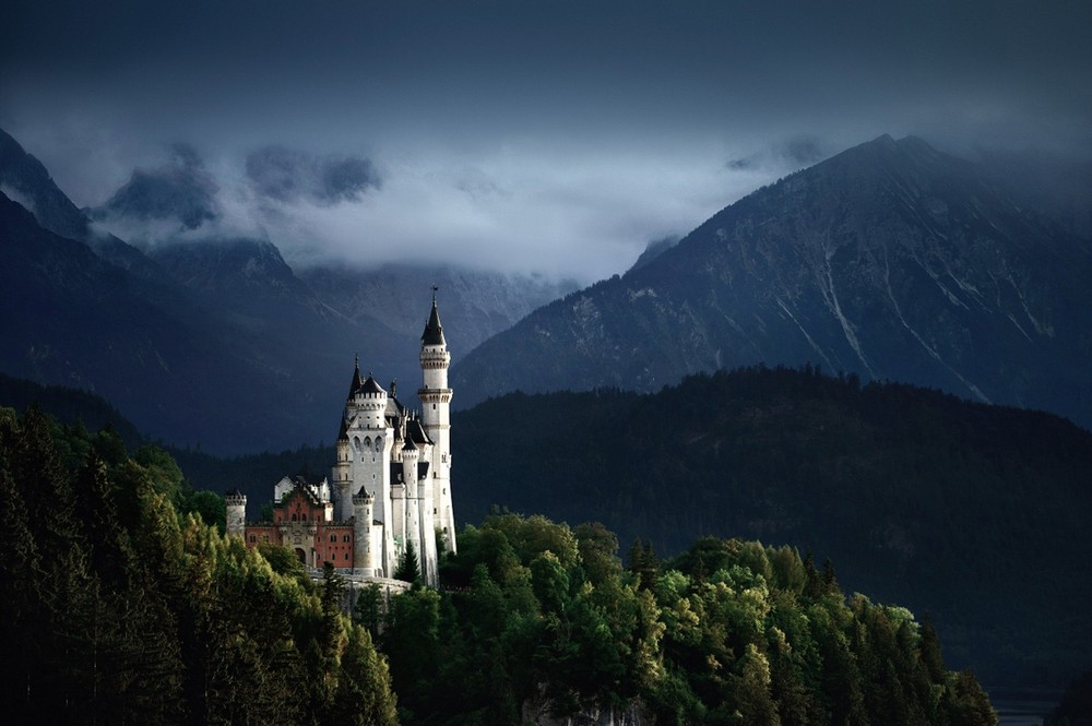 Удивительные пейзажи, вдохновленные сказками братьев Гримм Schonberger14