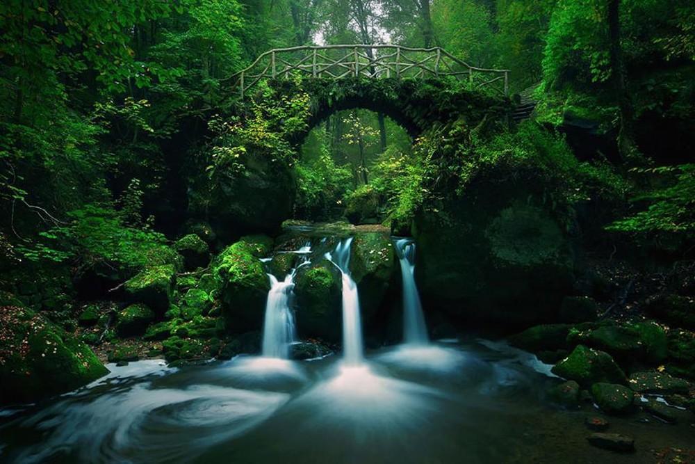 Удивительные пейзажи, вдохновленные сказками братьев Гримм Schonberger20