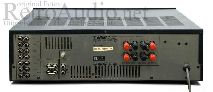 Nessun suono dall'amplificatore se utilizzo giradischi . CD funziona ma solo co CD Direct  Yamaha-ax-500_93712