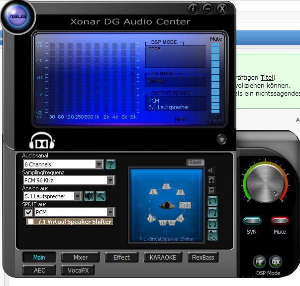 GeForce 9800 GT HDMI аудио със Xonar DG - Asus Asus-xonar-dg-audio-center_67057