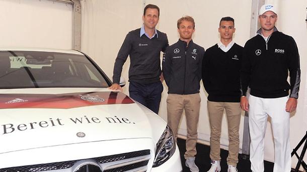 ¿Cuánto mide Nico Rosberg? - Altura - Real height Oliver-bierhoff-nico-rosberg-pascal-wehrlein-und-martin-kaymer-von-links-