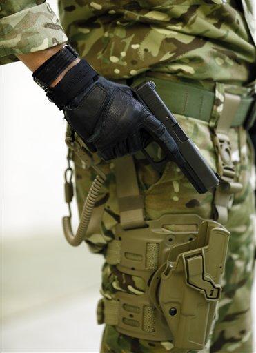 L'armée suisse et les Glock 460x