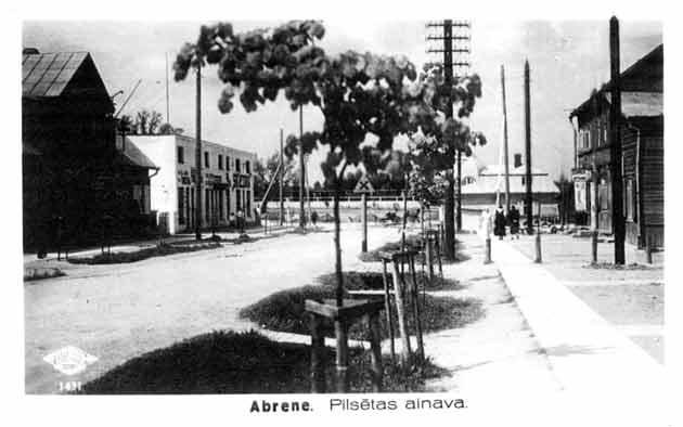 Vēsturiskas bildes un liecības Abrene_pils_1939_630