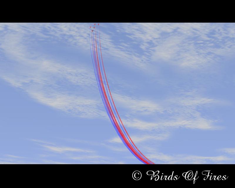 Patrouille Virtuelle de Voltige Birds Of Fires BirdsOfFires04