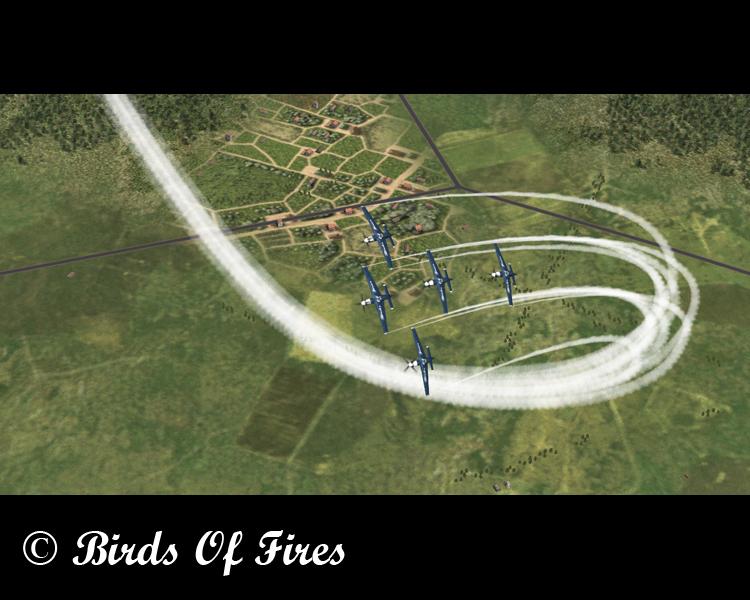 Patrouille Virtuelle de Voltige Birds Of Fires Birdsoffires0066