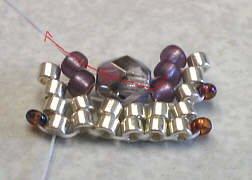объемные браслеты из бисера и колье... Be12