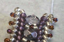 объемные браслеты из бисера и колье... Be14