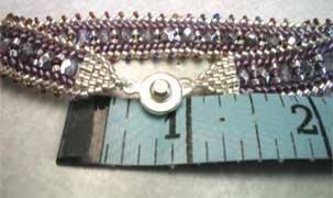 объемные браслеты из бисера и колье... Be15