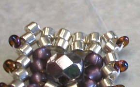 объемные браслеты из бисера и колье... Be20