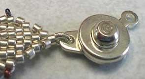 объемные браслеты из бисера и колье... Be21