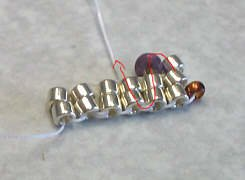объемные браслеты из бисера и колье... Be3