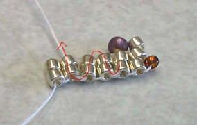 объемные браслеты из бисера и колье... Be4