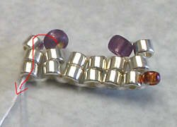 объемные браслеты из бисера и колье... Be5