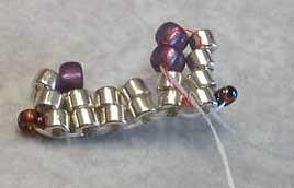 объемные браслеты из бисера и колье... Be7