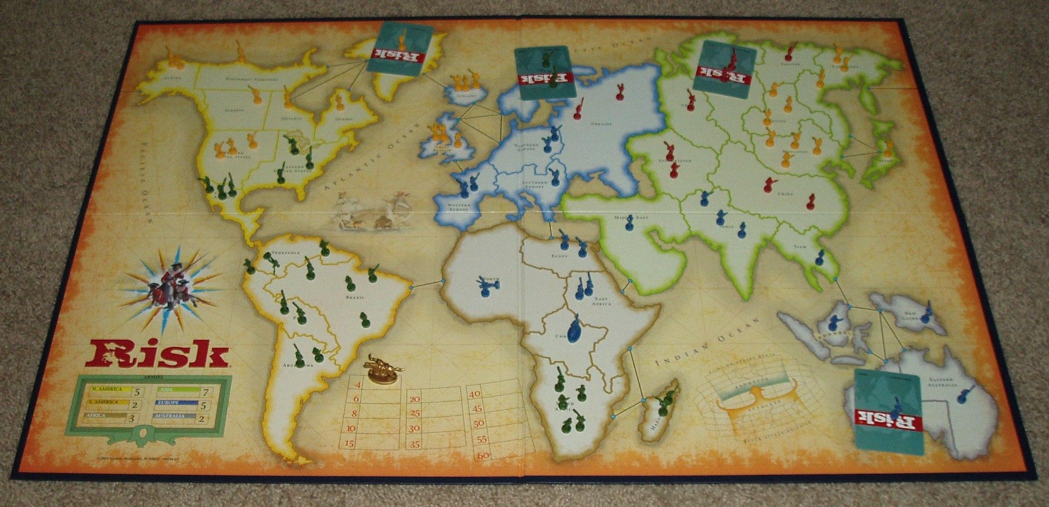 Juegos de mesa cual es tu preferido? Risk