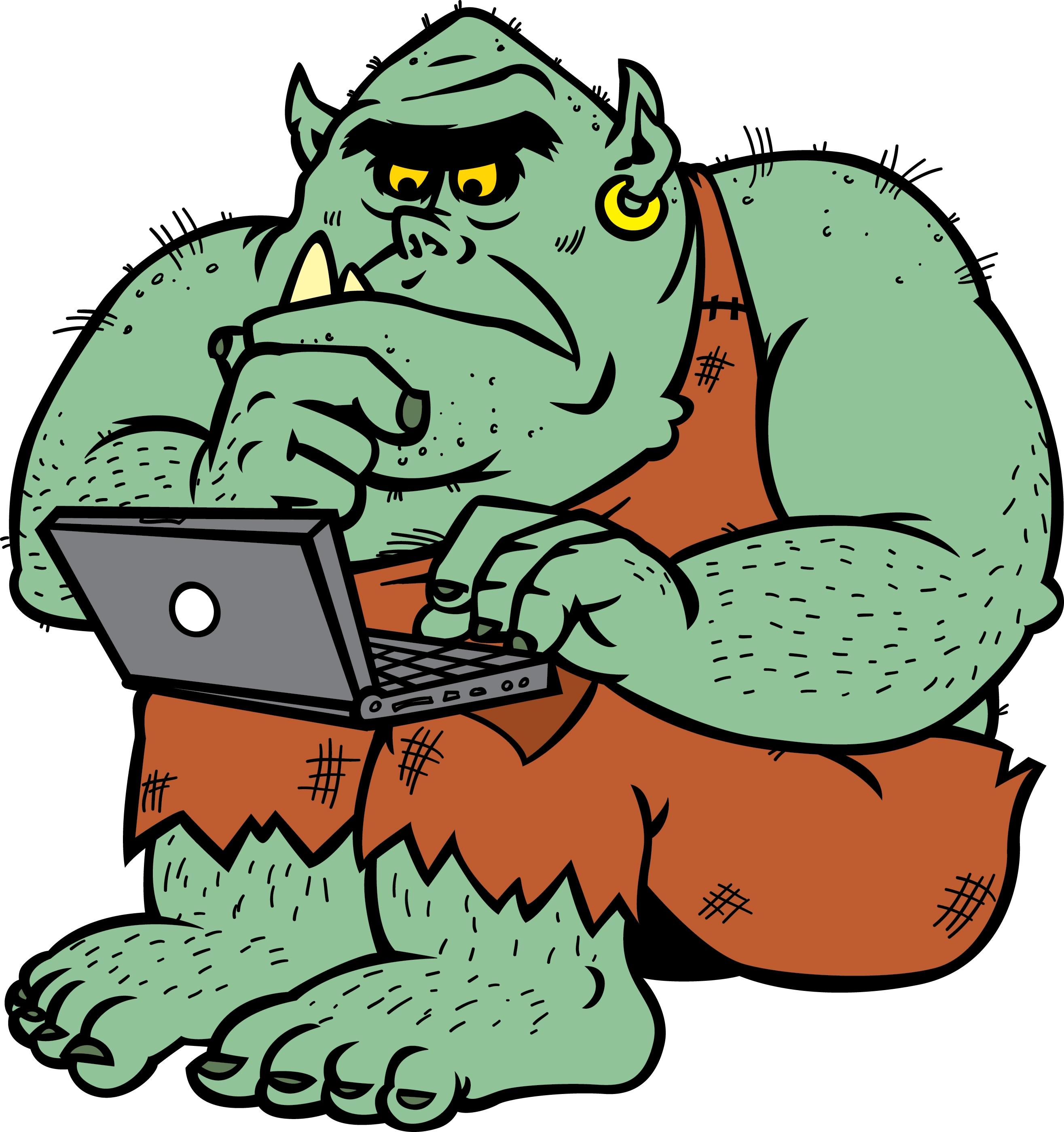 La maladie du troll (sujet sérieux, pas de blagues svp) Internet-Troll