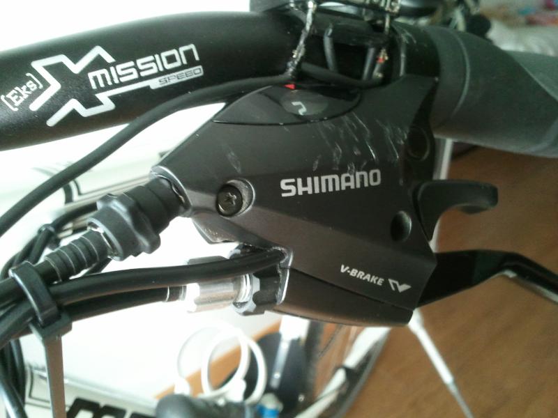 brico - BRICO: alternativa a las manetas de freno con corte de señal conservando las originales de tu bici. Maneta_5