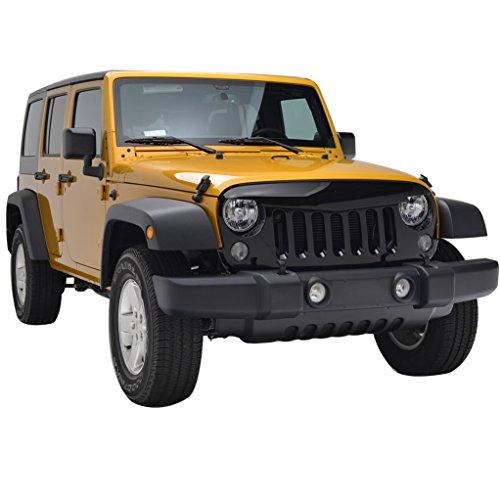 non ce la faccio piùùùùùù  E-Autogrilles-07-15-Jeep-Wrangler-JK-ABS-Black-Angry-Bird-Full-Replacement-Packaged-Grille-Shell-41-0140B-0-1