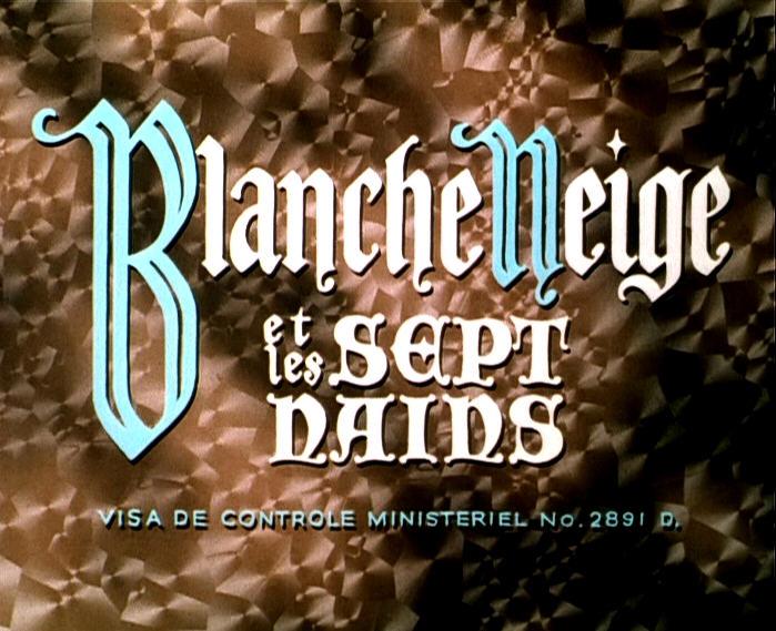 Blanche Neige et les Sept Nains [Walt Disney - 1937] - Page 35 Film00
