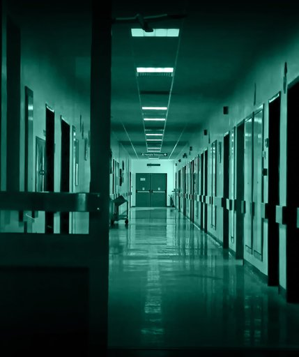 Коридоры больницы Med