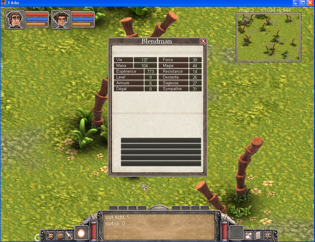 Arkeos Chronicle / 3 Arks -  Aventure RPG (moteur 2D iso) - Page 2 Ingame014