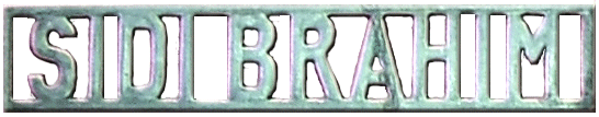 Plaque Sidi-Brahim  8.01