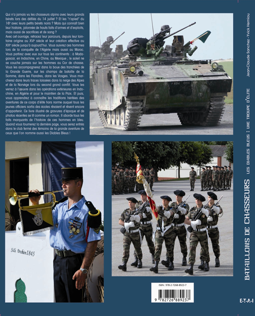 Bataillons de Chasseurs. Les Diables Bleus : une troupe d'élite Bataillonchasseurs2