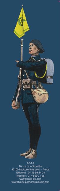 Bataillons de Chasseurs. Les Diables Bleus : une troupe d'élite Bataillonchasseurs4