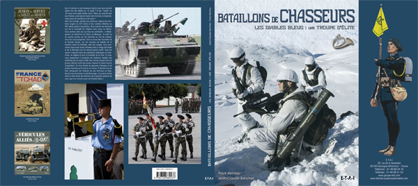 Bataillons de Chasseurs. Les Diables Bleus : une troupe d'élite Batchasscompl