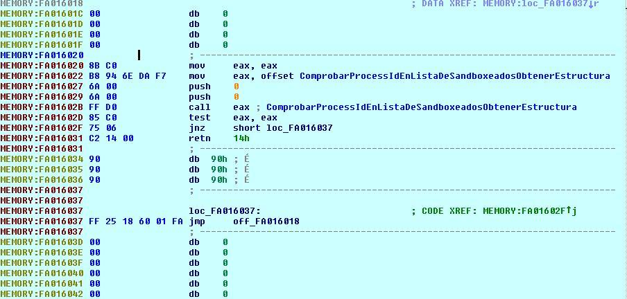 Sandbox I. Sandboxie. Aislamiento de procesos mediante control de acceso a objetos en kernel. Codigohookeo