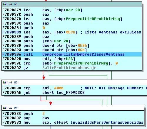 Sandbox I. Sandboxie. Aislamiento de procesos mediante control de acceso a objetos en kernel. Ventanasexcluidas
