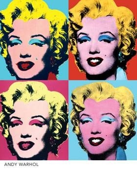 [Jeu] Association d'images Warhol_Marylins